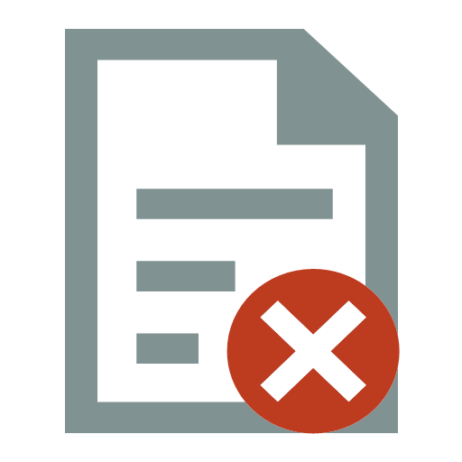 File deletion Icon