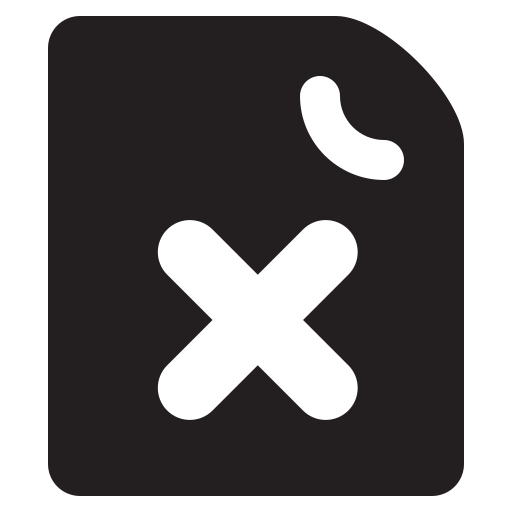 delete-document Icon