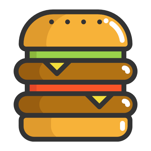 Hamburger Burger Icon