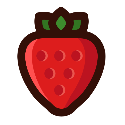 Delicious strawberry Icon