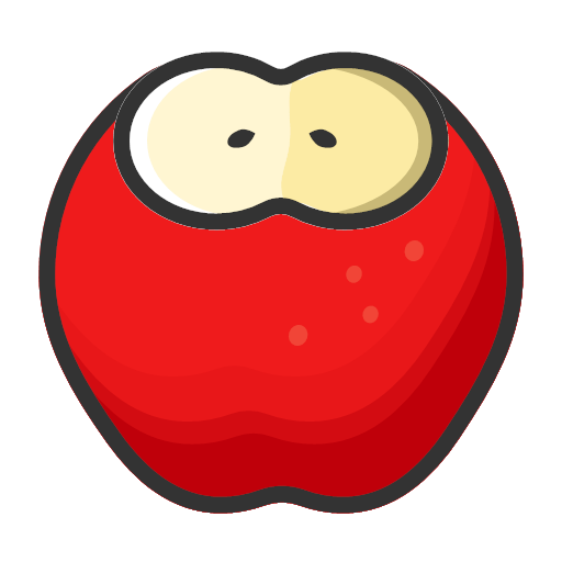 Apple - sweet and fresh Icon