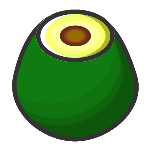 Avocado - sweet and fresh Icon