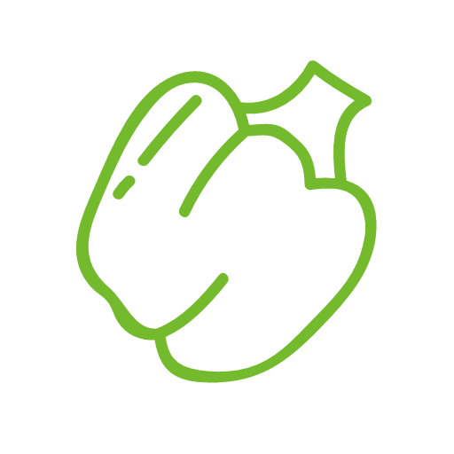 green pepper Icon