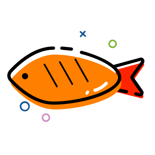 Roast fish MBE Icon