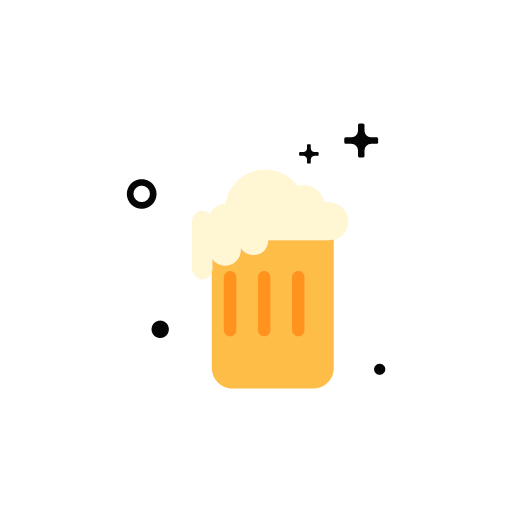 A glass of beer Icon