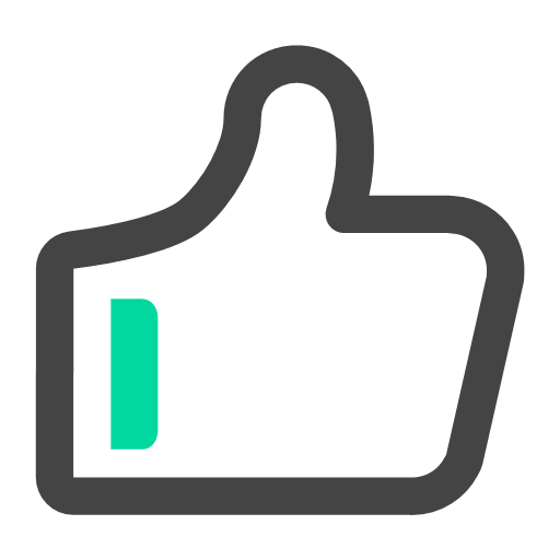 Give the thumbs-up Icon
