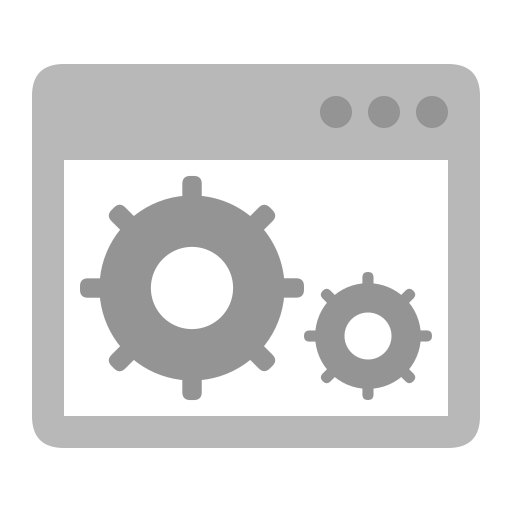 Surface icon system settings Icon