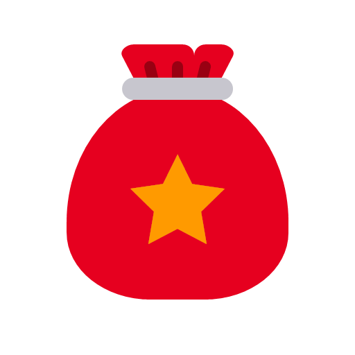 35 santa bag gift pr Icon