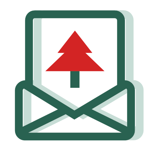 Christmas envelopes Icon