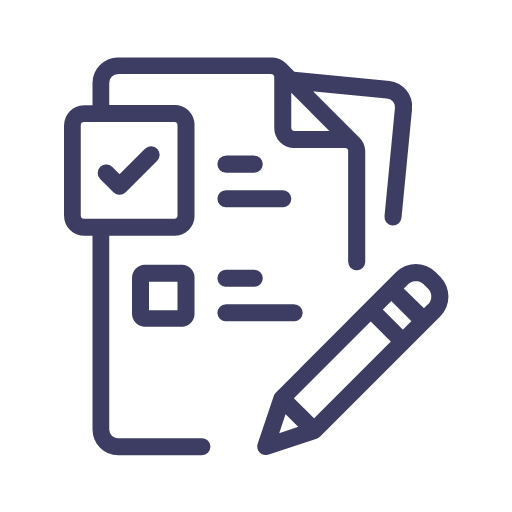 Writing reports Icon