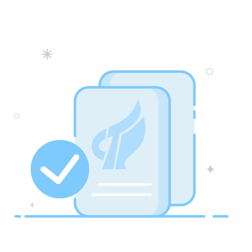 High tech enterprise certification Icon