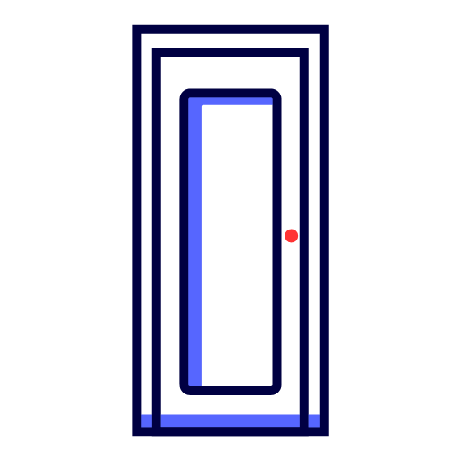 Single door Icon