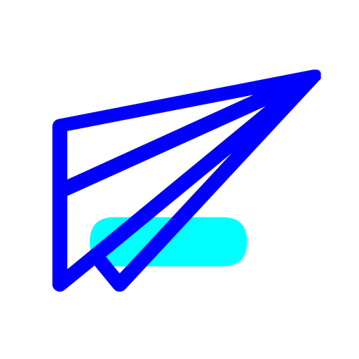 blue-aircraft Icon