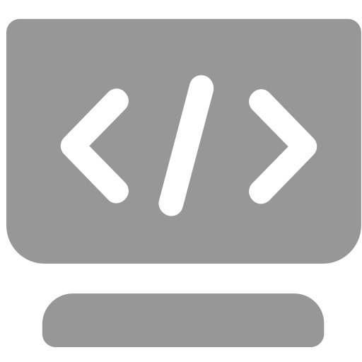 Code source configuration Icon