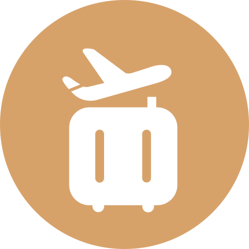 Baggage priority arrival Icon
