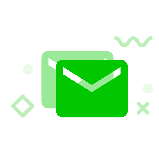 MBE style multicolor icon - mail Icon