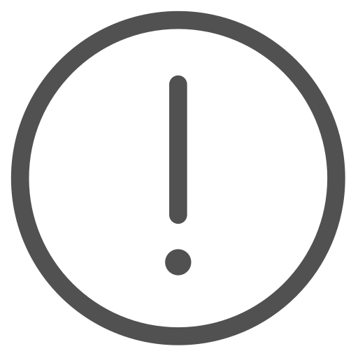round-warning Icon