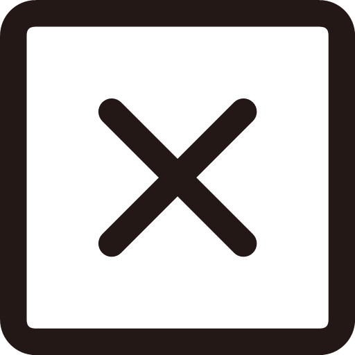 Cancel 4 Icon