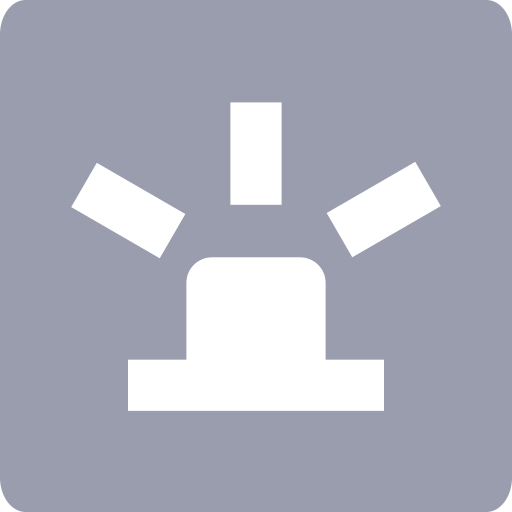 Monitoring - alarm history Icon