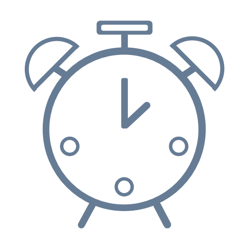 Daily household appliances - alarm clock Icon