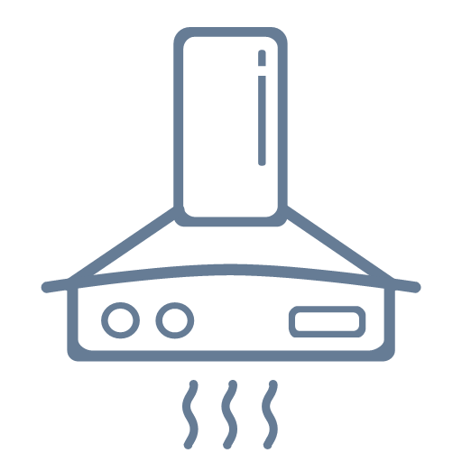 Daily household appliances - range hood Icon