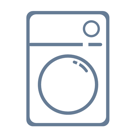 Daily household appliances washing machine Icon
