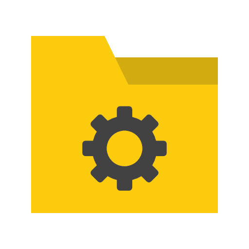 5720 - Folder Settings Icon