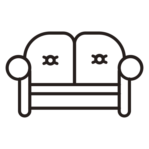 Furniture sofa Icon