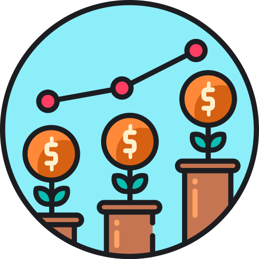Economy Growth Icon