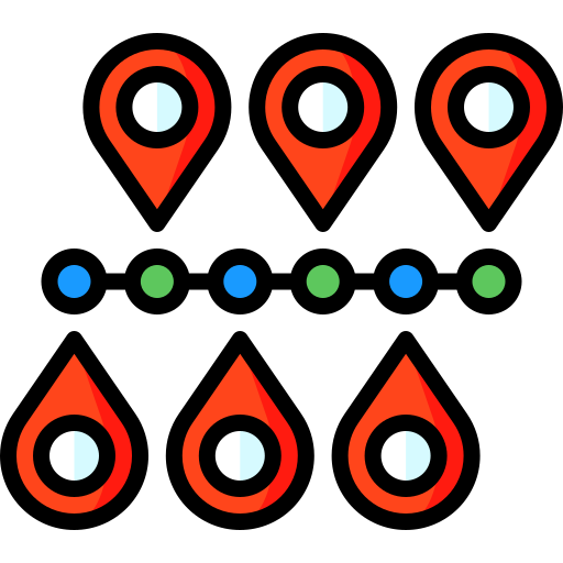 20-route locations Icon
