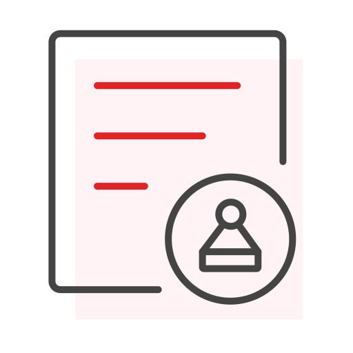 Administrative examination and approval Icon