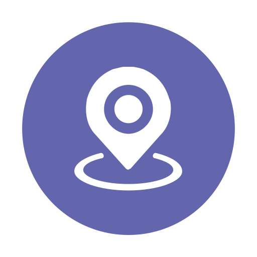 "App icon ""nearby customers"" Icon"