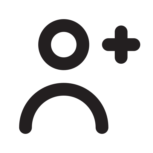 person-add-outline Icon