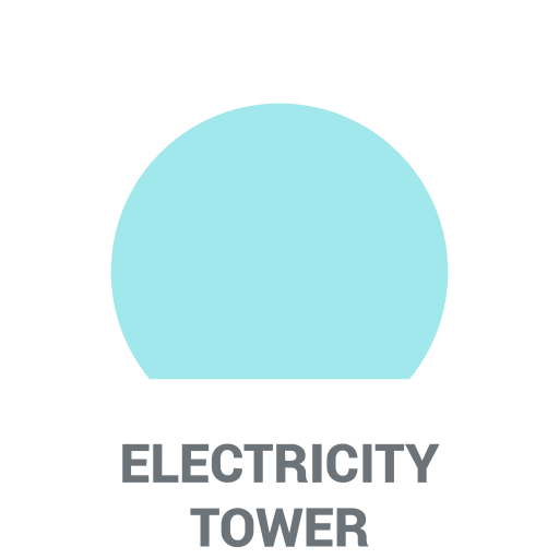 Power tower Icon