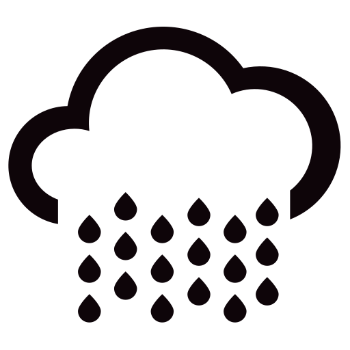 N13 heavy rain Icon