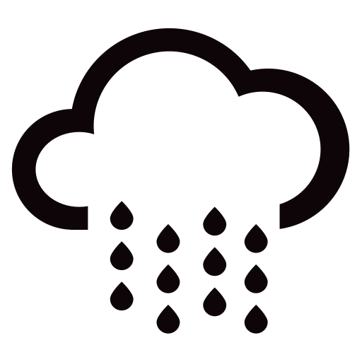 N24 heavy rain to rainstorm Icon