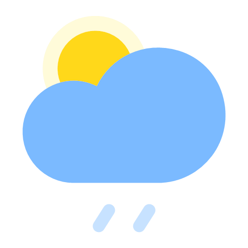 Cloudy to rainy (day) Icon