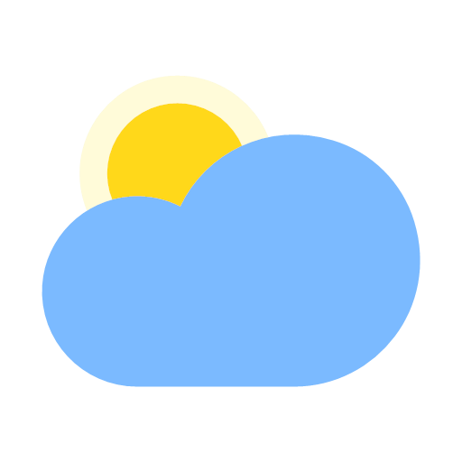 Sunny to cloudy (day) Icon
