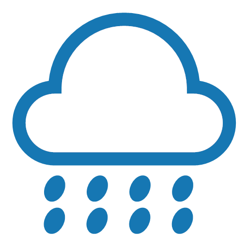 Weather - heavy rain Icon