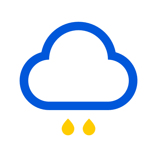 Weather - light rain Icon