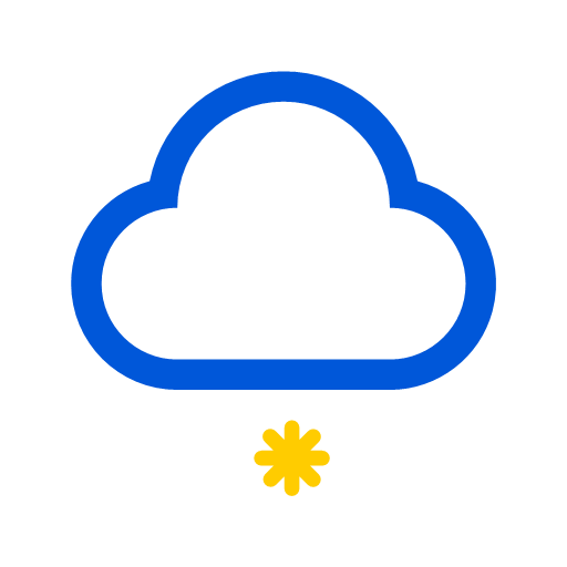 Weather snow Icon