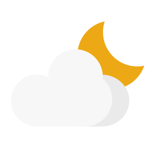 Weather - cloudy night Icon