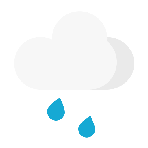 Weather - moderate rain Icon