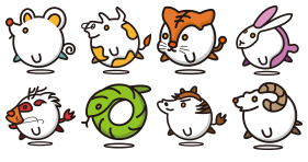 Animal zodiac Icons