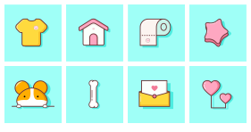 Xiaomi pet shop Icons