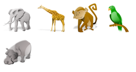 Animals Vista Icons