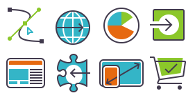 Application and product feature icons Icons