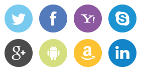 Common application icons Icons