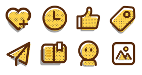 Social applet Icons