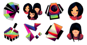 Artificial Girl Icons